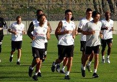 Beşiktaşta BB Erzurumspor maçı hazırlıkları