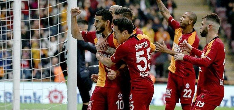 Galatasaray'da sisler dağıldı