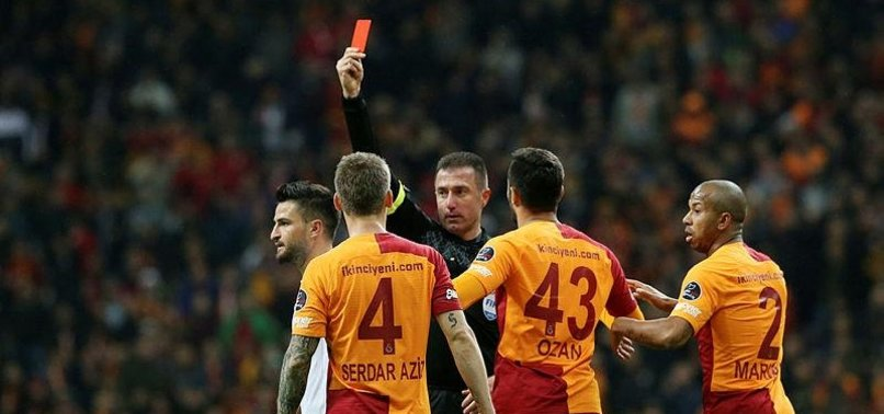 En çok kırmızı Galatasaray'a