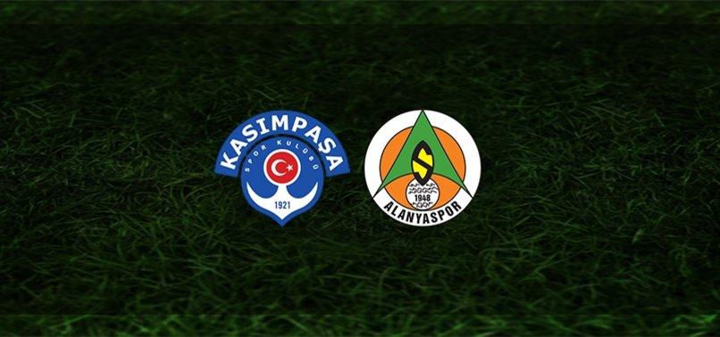 Kasımpaşa - Alanyaspor maçı ne zaman, saat kaçta ve hangi kanalda? | Süper Lig