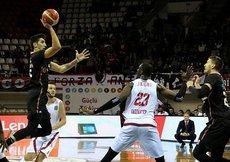 Gaziantep Basketbol sahasında Beşiktaşı mağlup etti