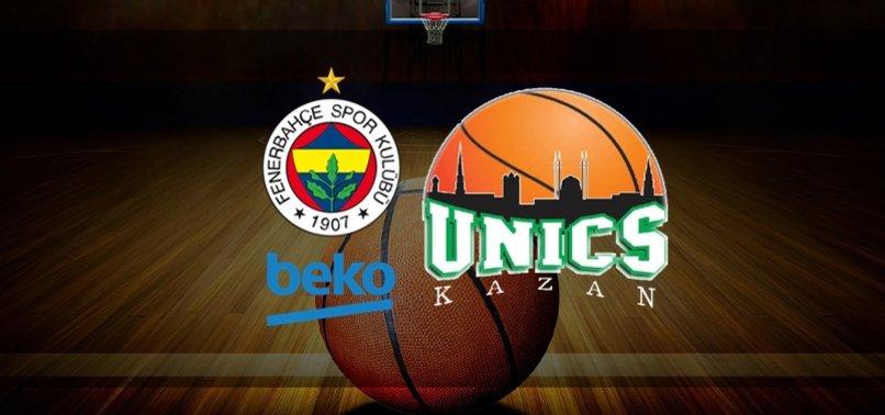 Fenerbahçe Beko Unics Kazan canlı izle (Fenerbahçe Beko-Unics Kazan canlı skor)