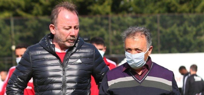 Beşiktaş'ta Ahmet Nur Çebi ve Sergen Yalçın bir araya geliyor