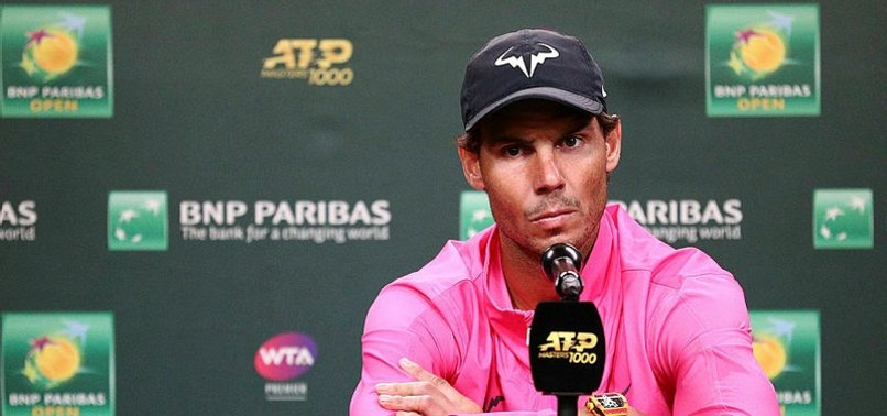 Nadal, Indian Wells'ten çekildi