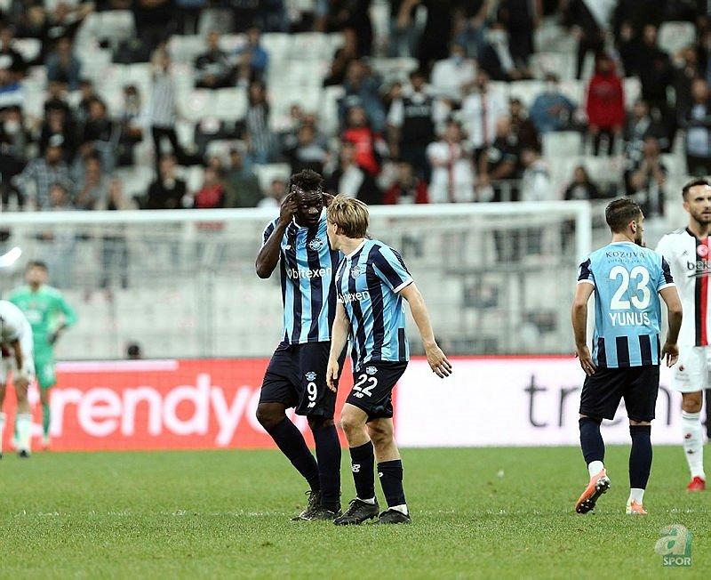 Beşiktaş Adana Demirspor maçı sonrası ortalık karıştı! Mario Balotelli ve Murat Şahin...
