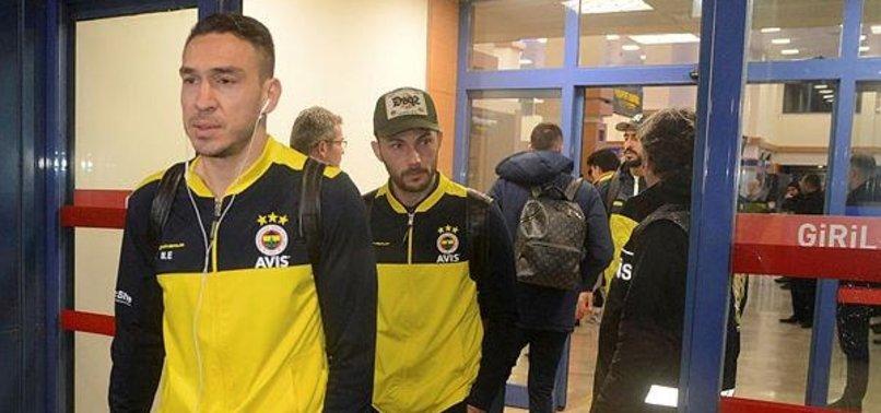 Fenerbahçe kafilesi Trabzon'da|İZLEYİN