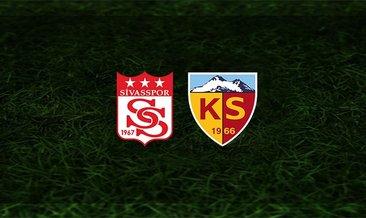 Sivasspor - Kayserispor maçı saat kaçta ve hangi kanalda?