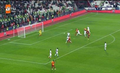 GOL | Akhisarspor 1-3 Galatasaray