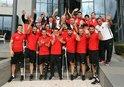 TFF heyeti, Ampute Milli Futbol Takımını kabul etti