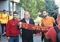 G.Saray'a Malatya'da coşkulu karşılama