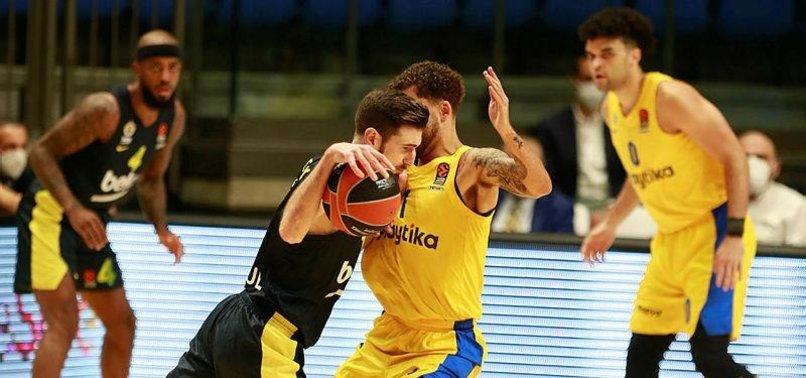 THY EuroLeague: Maccabi Playtika 65-75 Fenerbahçe Beko | MAÇ SONUCU | MAÇ ÖZETİ