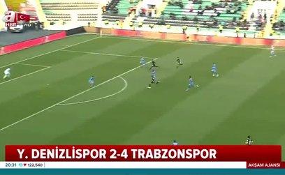 Denizlispor - Trabzonspor | MAÇ ÖZETİ