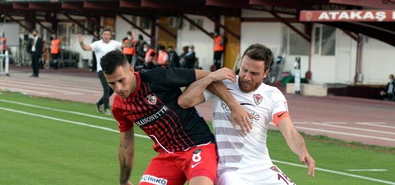 Hatayspor 0 - 1 Gaziantep FK (MAÇ SONUCU - ÖZET)