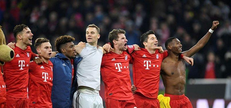 B. Münih sahasında Dortmund'u rahat devirdi