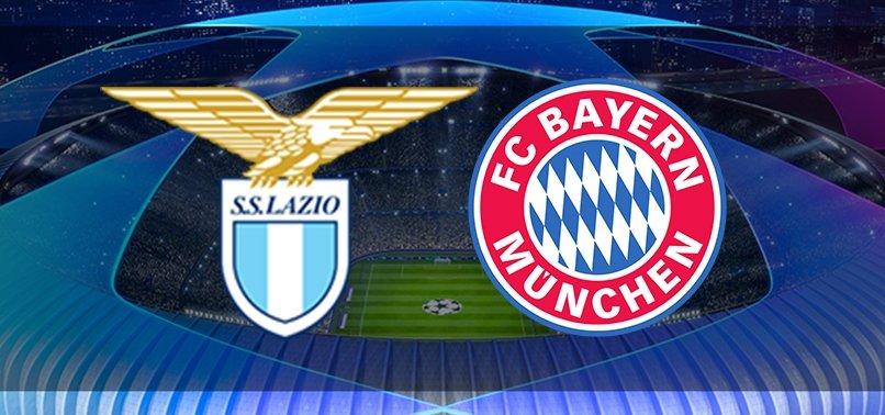 Lazio - Bayern Münih   İlk 11'ler belli oldu