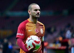 Wesley Sneijder Türkiye'ye dönüyor! İşte yeni takımı
