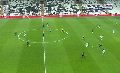 Beşiktaş 2 - 3 Erzurumspor | GENİŞ ÖZET