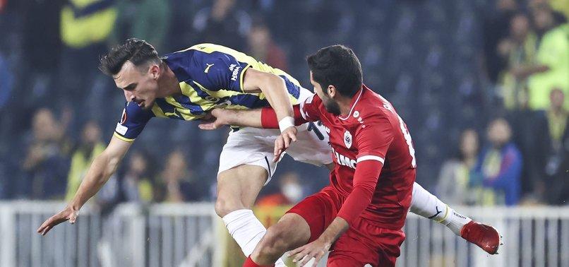 Fenerbahçe 2-2 Royal Antwerp (MAÇ SONUCU - ÖZET)