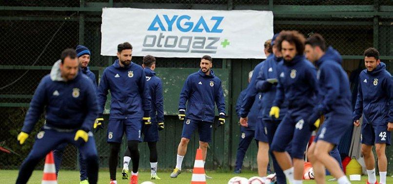 Fenerbahçe'de Tolga Ciğerci takımla çalıştı