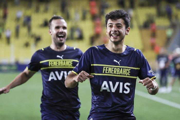 Muhammed Gümüşkaya Helsinki'ye attığı şık golün ardından...