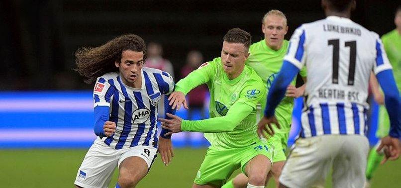 Bundesliga: Hertha Berlin 1-1 Wolfsburg | MAÇ SONUCU