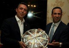 Malatyaspor-F.Bahçe maçı öncesi dostluk yemeği