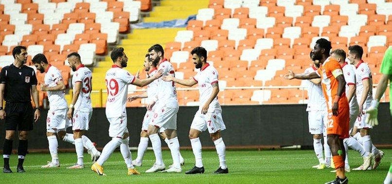 Adanaspor 0-2 Samsunspor (MAÇ SONUCU-ÖZET)