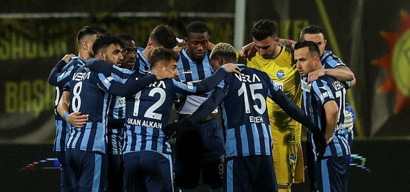 Spor Toto 1.Lig'de Adana Demirspor liderliğe yükseldi!