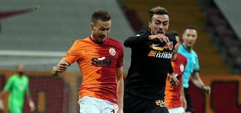 Galatasaray 1-1 Kayserispor (MAÇ SONUCU - ÖZET)