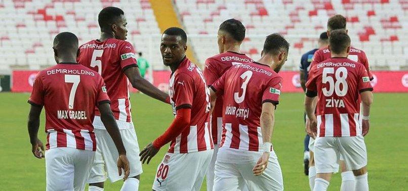 Sivasspor 2-1 Kasımpaşa (MAÇ SONUCU-ÖZET)