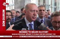 Başkan Erdoğan'dan 'asker selamı' açıklaması
