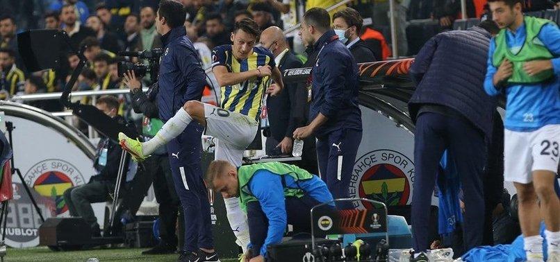Fenerbahçe Antwerp maçı sonrası Mesut Özil'den tekme açıklaması! O hareketim...
