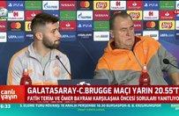 Fatih Terim açıkladı! Babel Club Brugge maçında oynayacak mı?