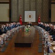 Başkan Erdoğan Kulüpler Birliği üyelerini kabul etti! Toplantıdan ilk kareler...