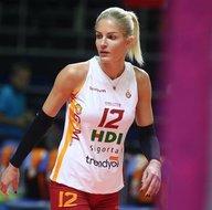 Galatasarayın güzel voleybolcusu Sinem Yıldızın paylaşımları olay oldu