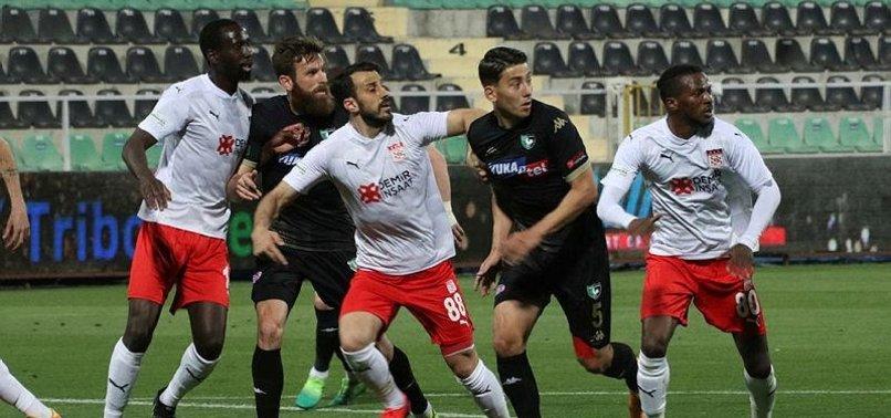 Denizlispor 1-1 Sivasspor (MAÇ SONUCU-ÖZET)