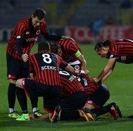 Gençlerbirliği-Beşiktaş karşılaşmasından kareler