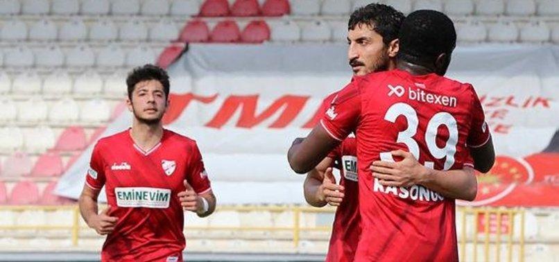 Boluspor 3-0 Eskişehirspor (MAÇ SONUCU-ÖZET)