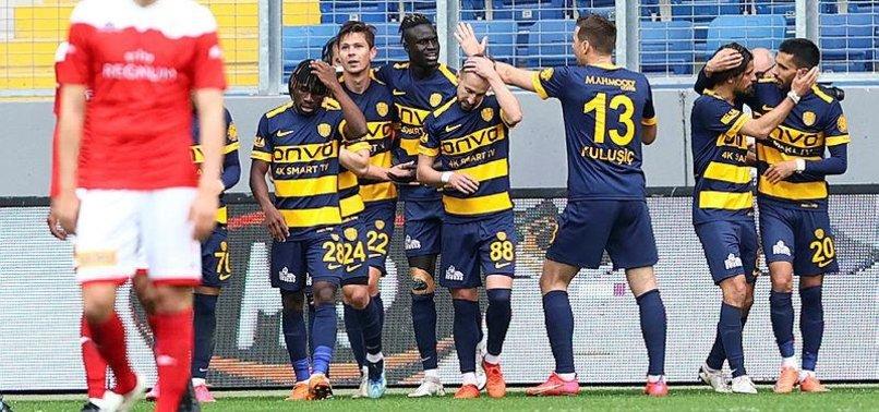 Ankaragücü 1-0 Antalyaspor (MAÇ SONUCU-ÖZET)