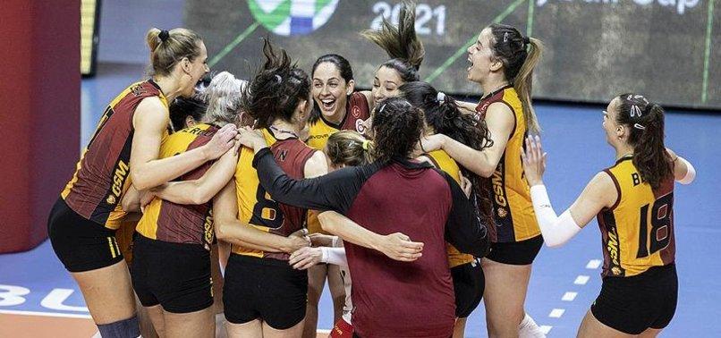 Galatasaray finalde! Galatasaray HDI Sigorta 3-0 Beziers Angels (MAÇ SONUCU-ÖZET)