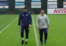 Fenerbahçede Tolga Ciğerci sevinci