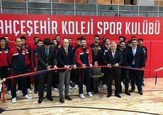 Bahçeşehir Koleji'nden yeni spor salonu