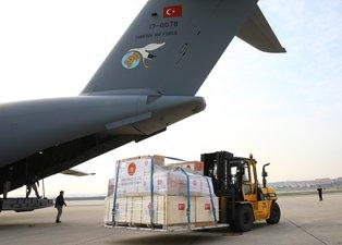 İşte günün fotoğrafı! Türkiye'den İtalya ve İspanya'ya tıbbı yardım