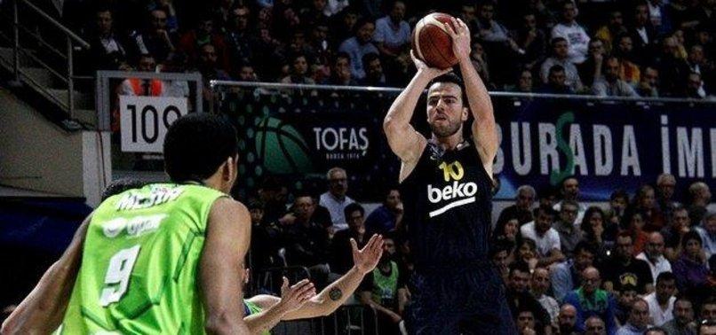 Fenerbahçe BekodeplasmandaTOFAŞ'ı mağlup etti