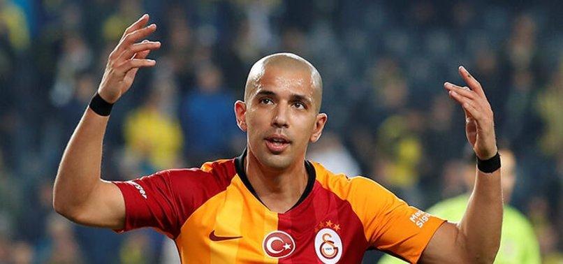 Sofiane Feghouli'den Galatasaray'a ihtarname hamlesi!
