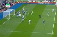 Leicester City - Manchester City maçında müthiş karambol