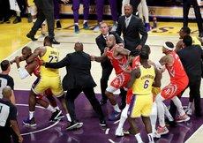 NBAde yumruk yumruğa kavga! Chris Paul ve Rajon Rondo...