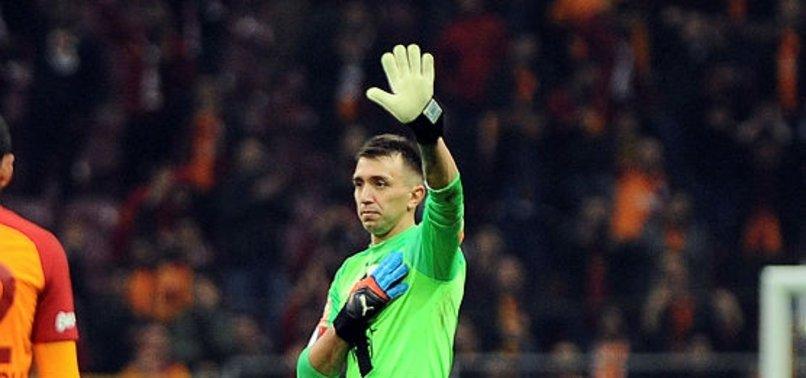 Galatasaray'da Fenerbahçe derbilerinin en deneyimlisi Muslera