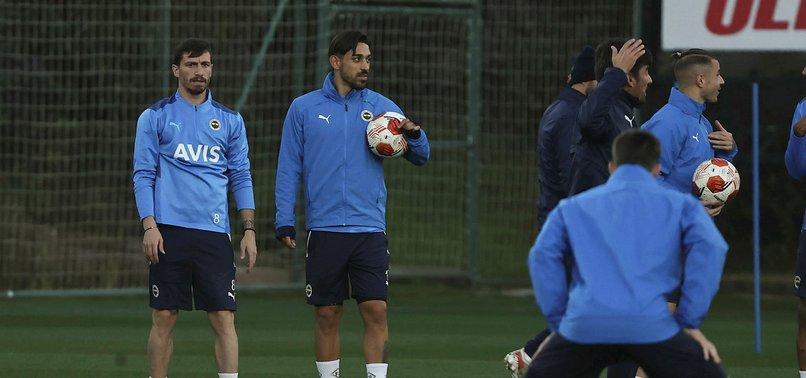 Fenerbahçe Royal Antwerp maçına hazır! Mert Hakan Yandaş...