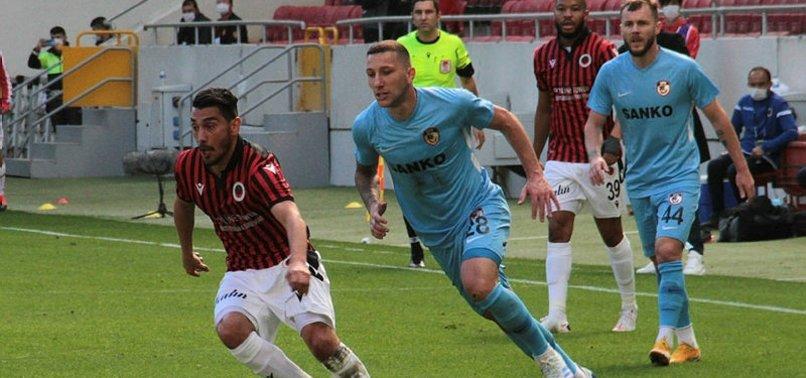Gençlerbirliği 1-1 Gaziantep FK   MAÇ SONUCU